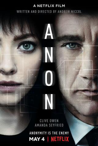 Anon (2018) Main Poster