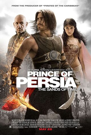 Prince of Persia: The Sands of Time (2010) Main Poster