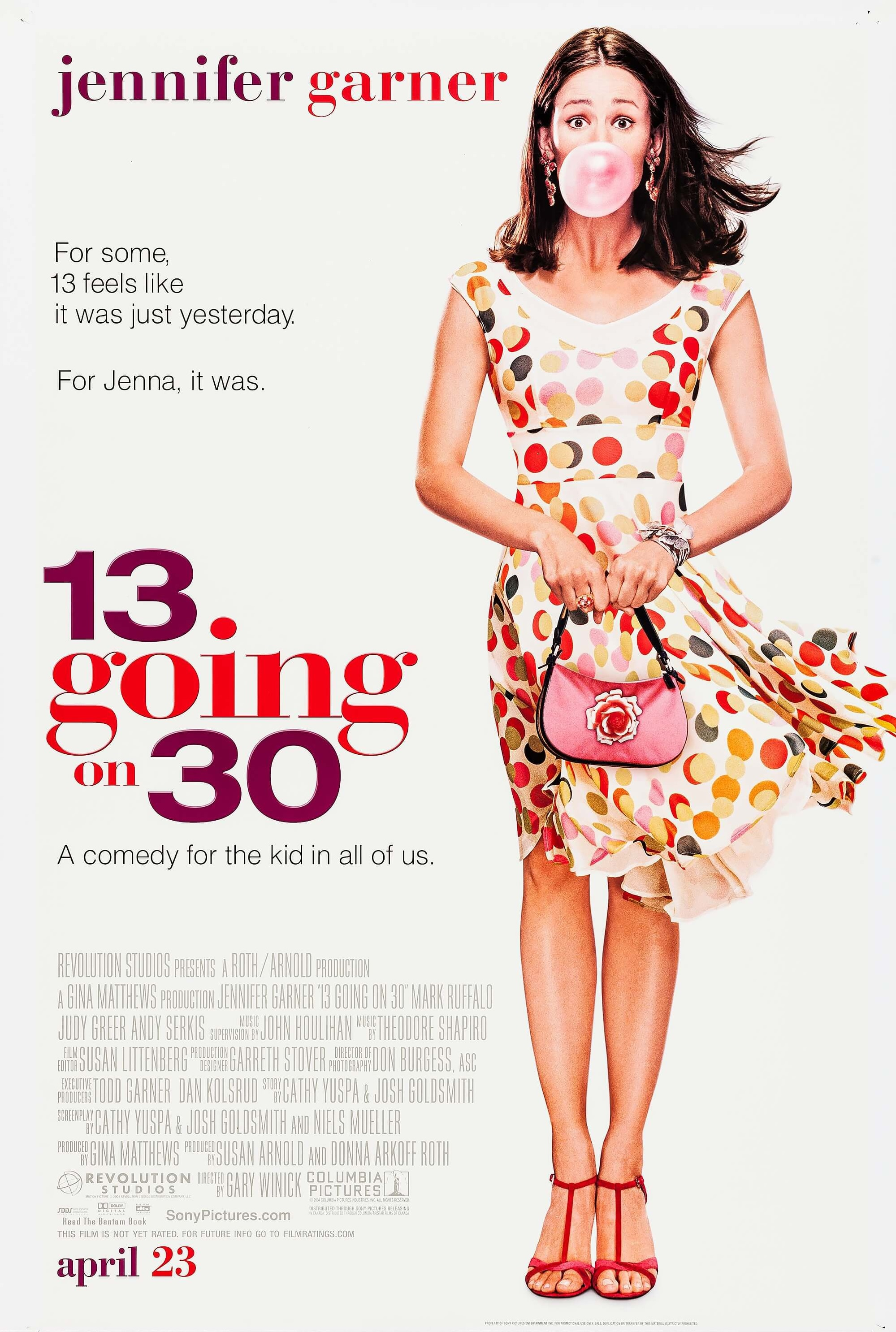 13 Going On 30 (2004) Main Poster