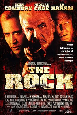 The Rock (1996) Main Poster