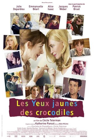 The Yellow Eyes Of The Crocodiles (2014) Main Poster