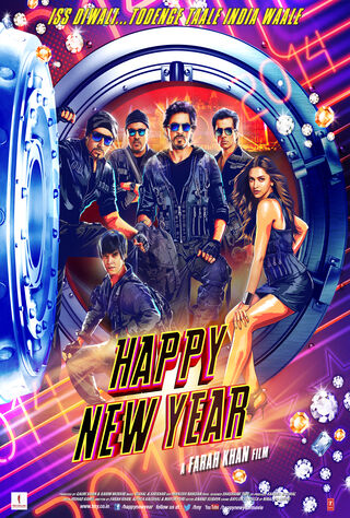 Happy New Year (2014) Main Poster