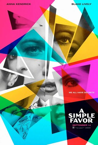 A Simple Favor (2018) Main Poster