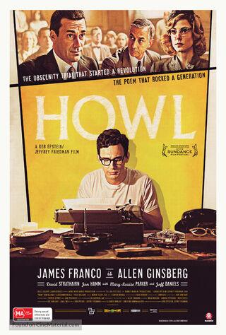 Howl (2010) Main Poster