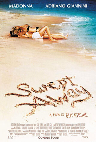 Swept Away (2002) Main Poster