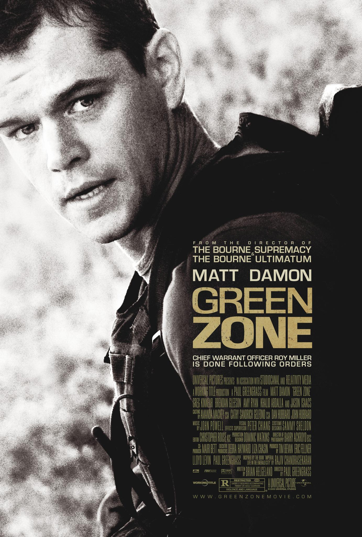 Green Zone (2010) Main Poster