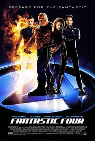 Fantastic Four (2005) Main Poster