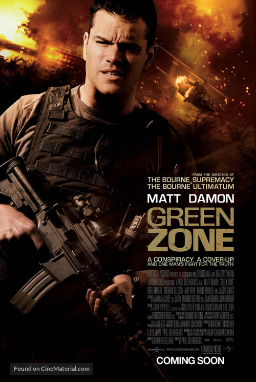 Green Zone (2010) Poster #4