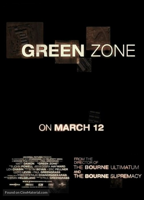 Green Zone (2010) Poster #6