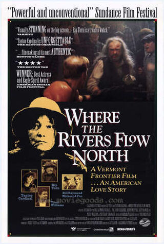 Where The Rivers Flow North (1994) Main Poster