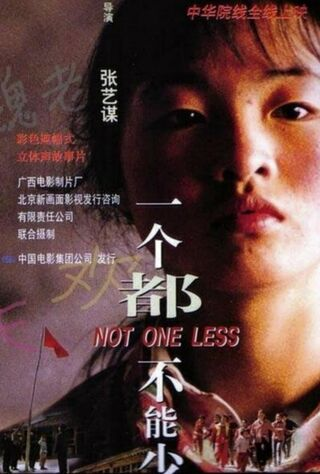 Not One Less (1999) Main Poster