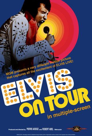 Elvis On Tour (1972) Main Poster