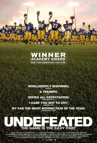 Undefeated (2012) Main Poster