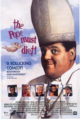 The Pope Must Diet (1991) Main Poster