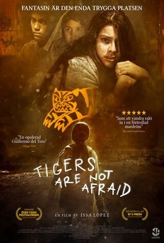 Tigers Are Not Afraid (2017) Main Poster