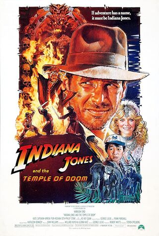 Indiana Jones and the Temple of Doom (1984) Main Poster