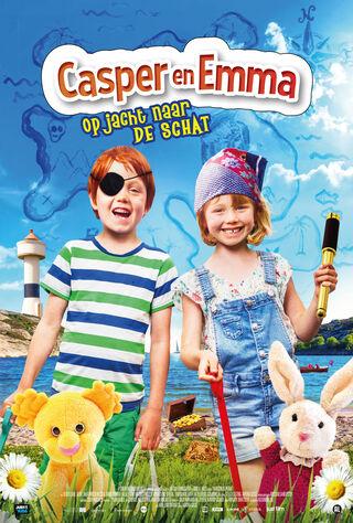 Casper And Emma Go Treasure Hunting (2018) Main Poster