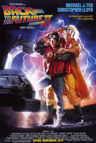Back to the Future Part II (1989) Main Poster