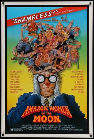 Amazon Women On The Moon (1987) Main Poster