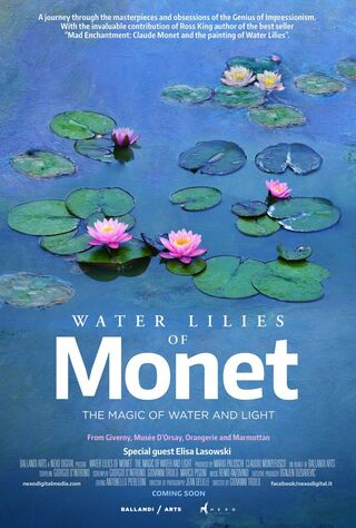 Water Lilies Of Monet - The Magic Of Water And Light (2020) Main Poster