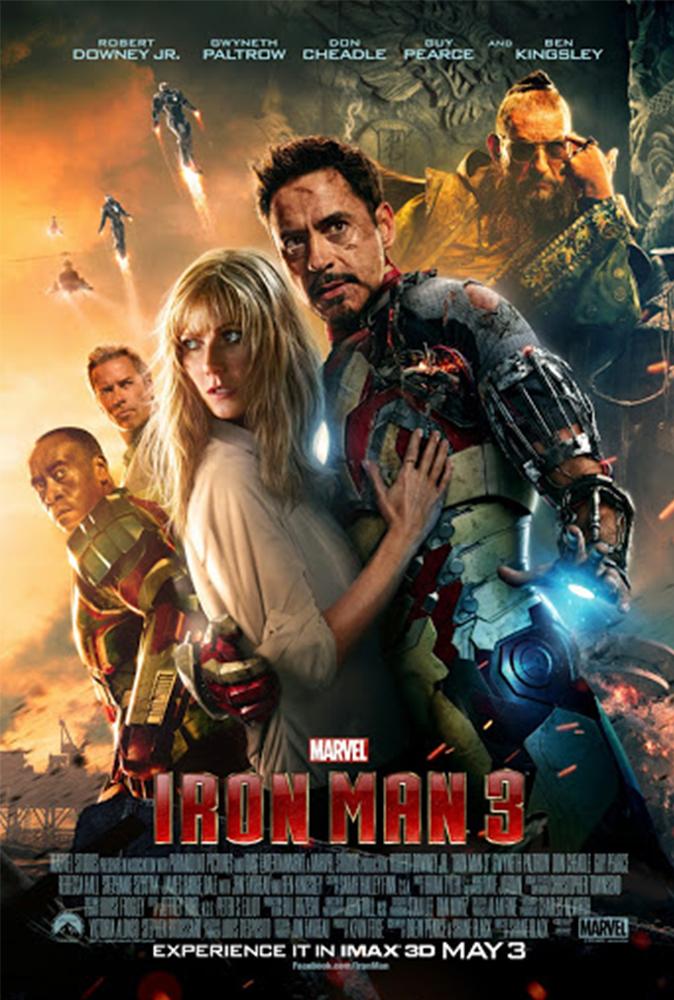 Iron Man 3 (2013) Main Poster