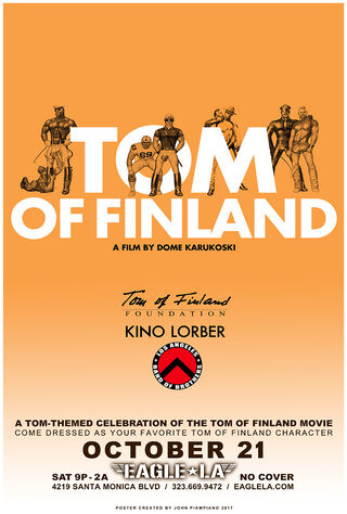 Tom Of Finland (2017) Main Poster