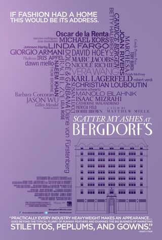Scatter My Ashes At Bergdorf's (2013) Main Poster