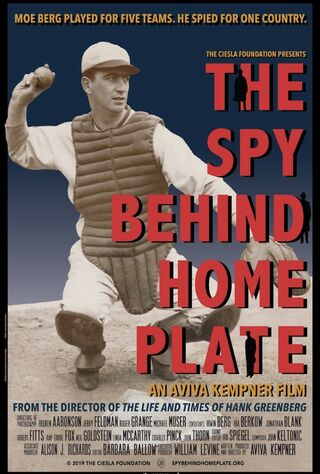 The Spy Behind Home Plate (2019) Main Poster