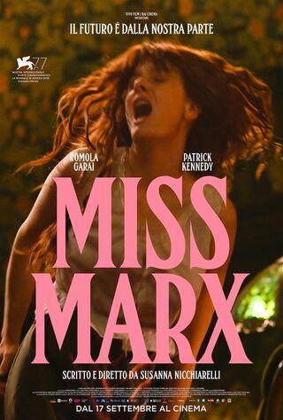 Miss Marx (2020) Main Poster