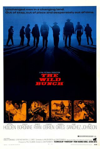 The Wild Bunch (1969) Main Poster