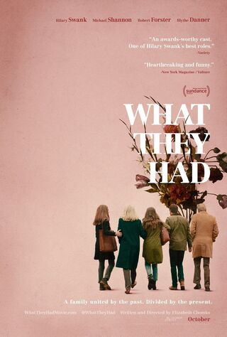 What They Had (2018) Main Poster