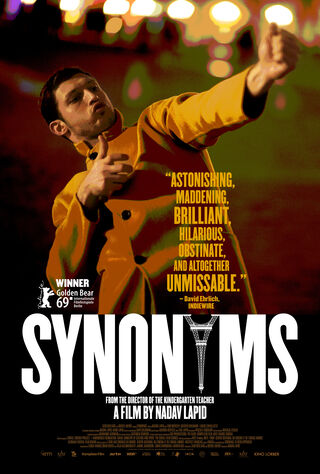Synonyms (2019) Main Poster