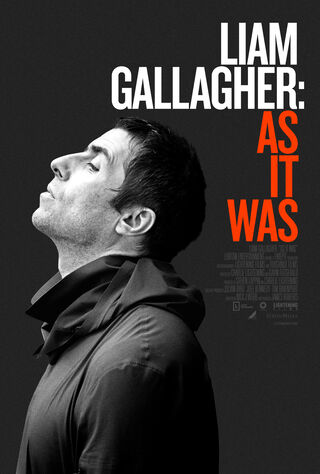 Liam Gallagher: As It Was (2019) Main Poster