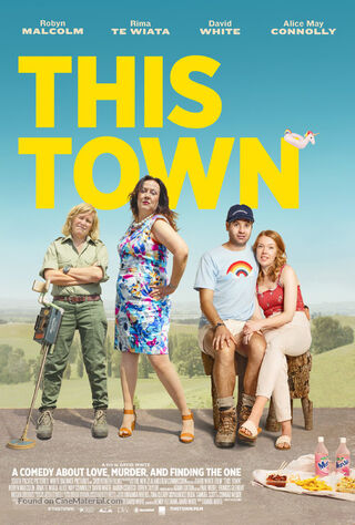 This Town (2020) Main Poster