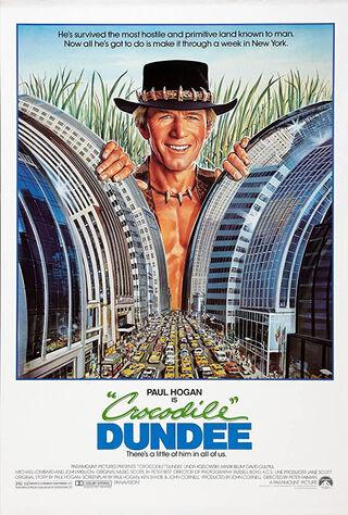 Crocodile Dundee (1986) Main Poster
