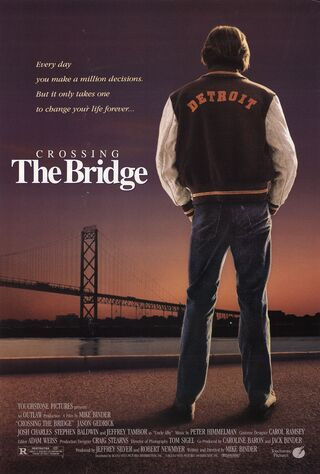 Crossing The Bridge (1992) Main Poster