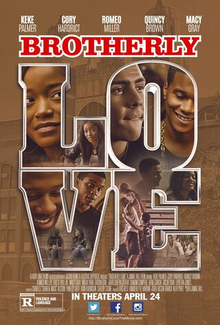 Brotherly Love (2015) Main Poster