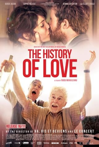 The History Of Love (2016) Main Poster