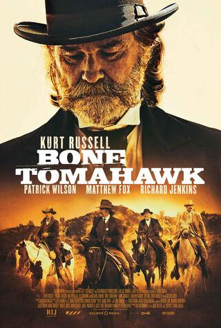 Bone Tomahawk (2016) Main Poster