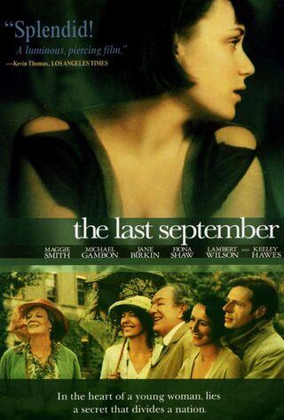 The Last September (2000) Main Poster