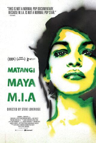 Matangi/Maya/M.I.A (2018) Main Poster
