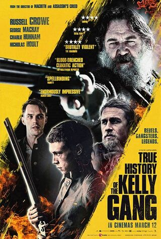 True History Of The Kelly Gang (2020) Main Poster