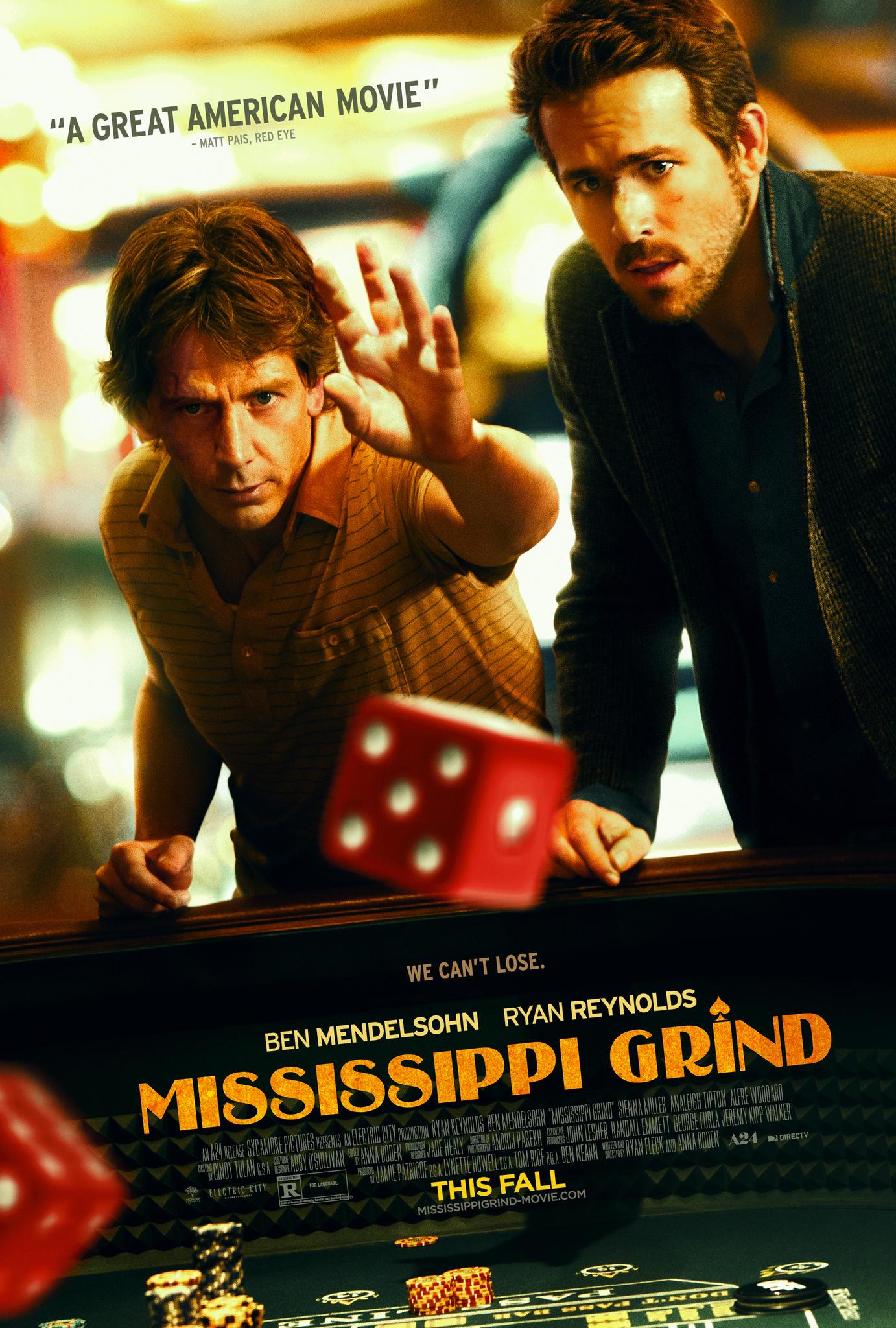 Mississippi Grind (2015) Main Poster