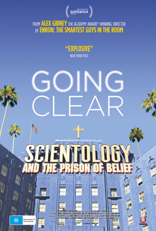 Going Clear: Scientology & The Prison Of Belief (2015) Main Poster