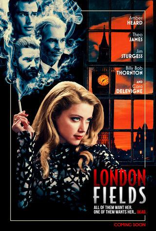 London Fields (2018) Main Poster