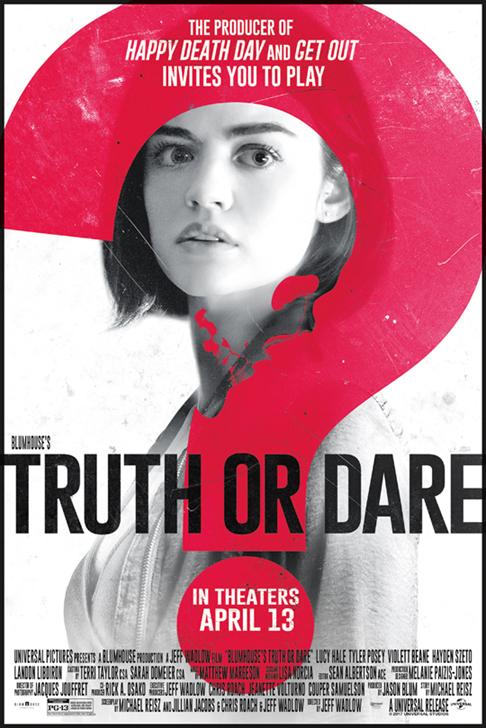 Truth Or Dare (2018) Poster #2