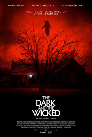The Dark And The Wicked (2020) Main Poster
