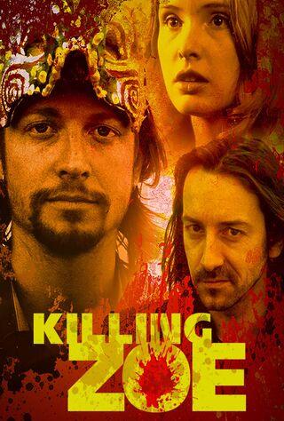 Killing Zoe (1994) Main Poster