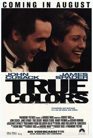 True Colors (1991) Main Poster