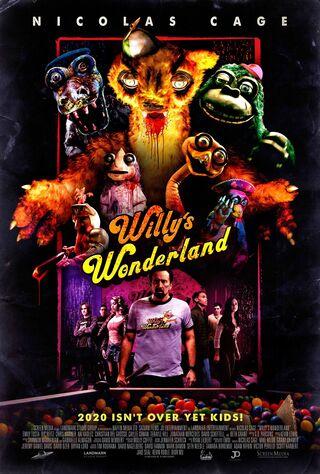Willy's Wonderland (2021) Main Poster
